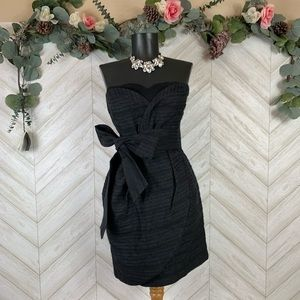 See by Chloe Black Strapless Dress US 4